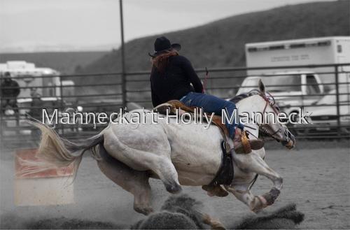 Barrel Racing Wilsall Rodeo Montana (large view)