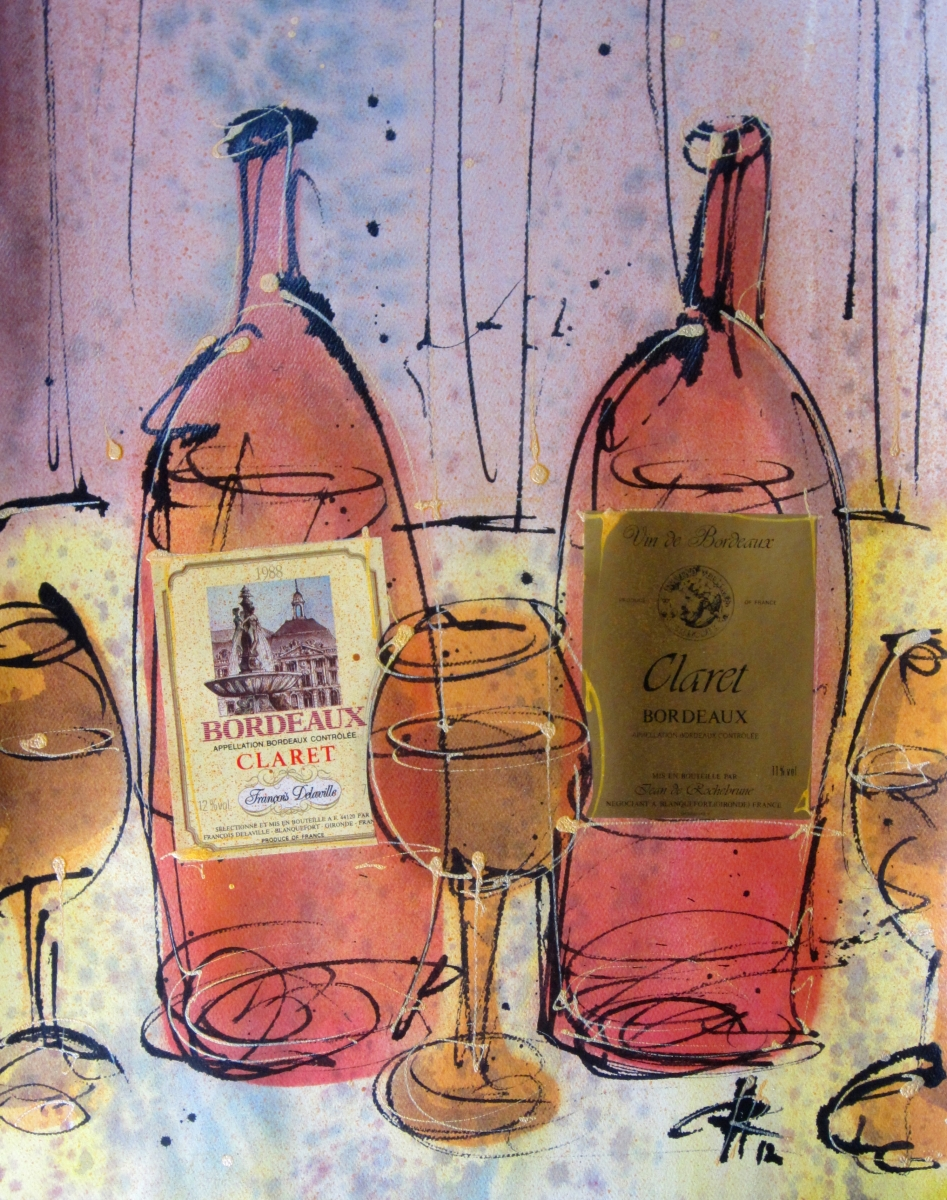 Bordeaux Claret (Vintage Wine) (large view)