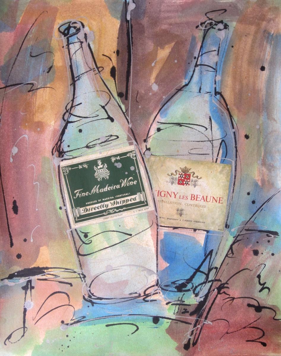 Fine Madeira Wine (Vintage Wine) (large view)