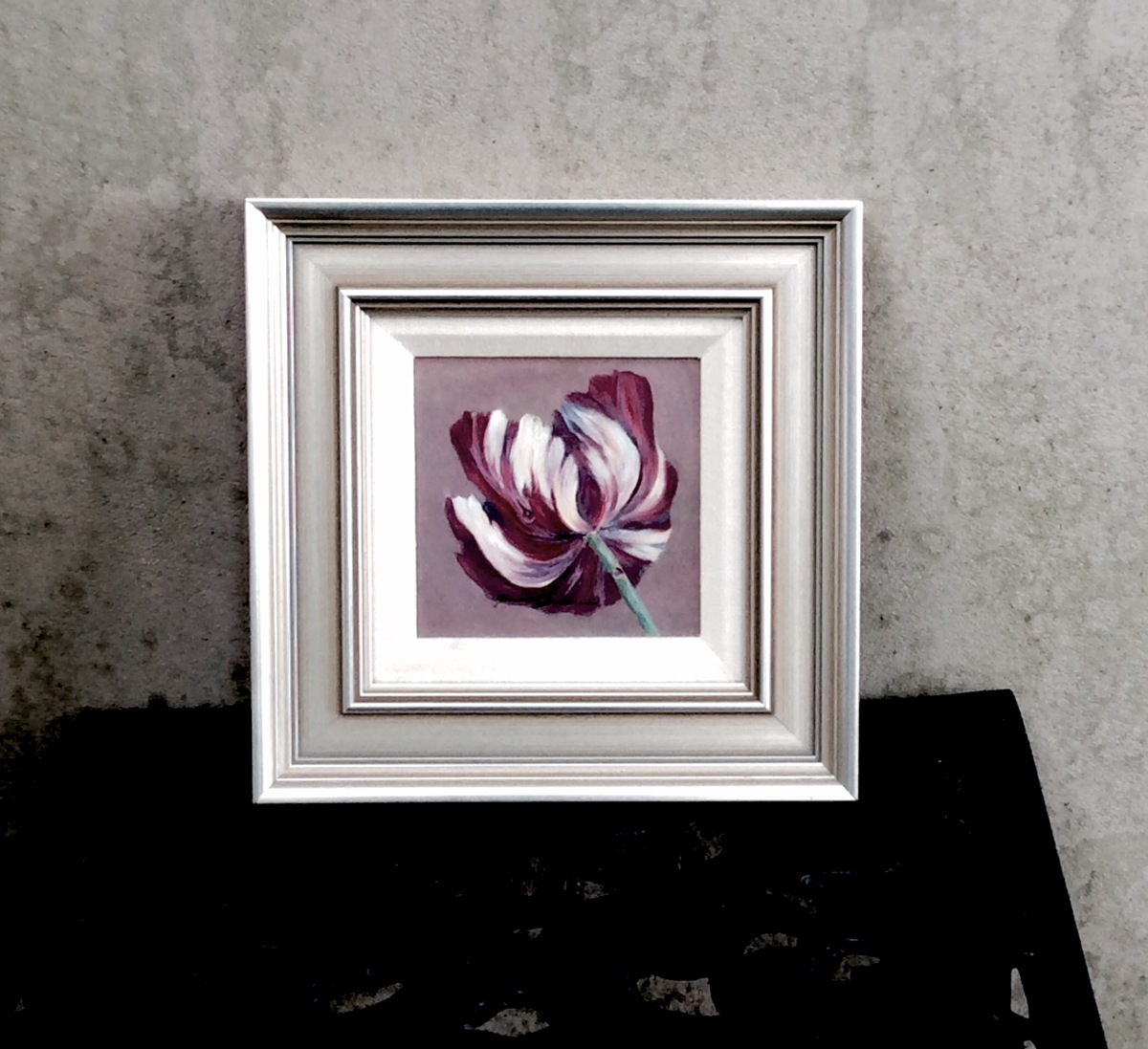 Sold, Dutch Tulip, framed (large view)