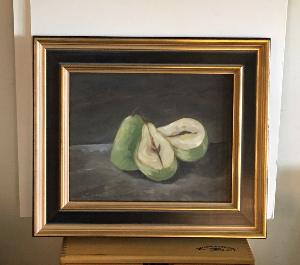 Three Pears, framed  (large view)
