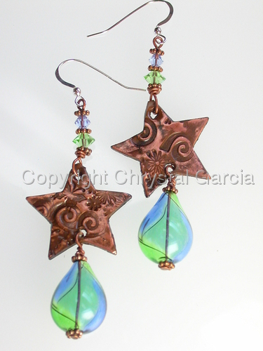 Celestial Rain Earrings