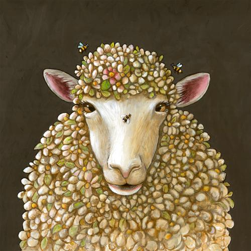 Wool Ewe Bee Mine