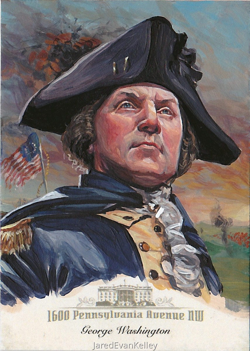 Washington Sketch Card (large view)