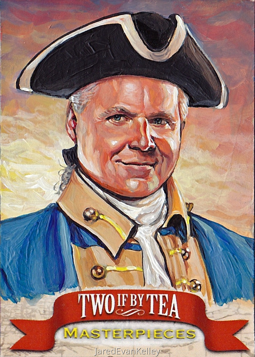 Sample Work for Two If By Tea® (Rush Limbaugh) (large view)