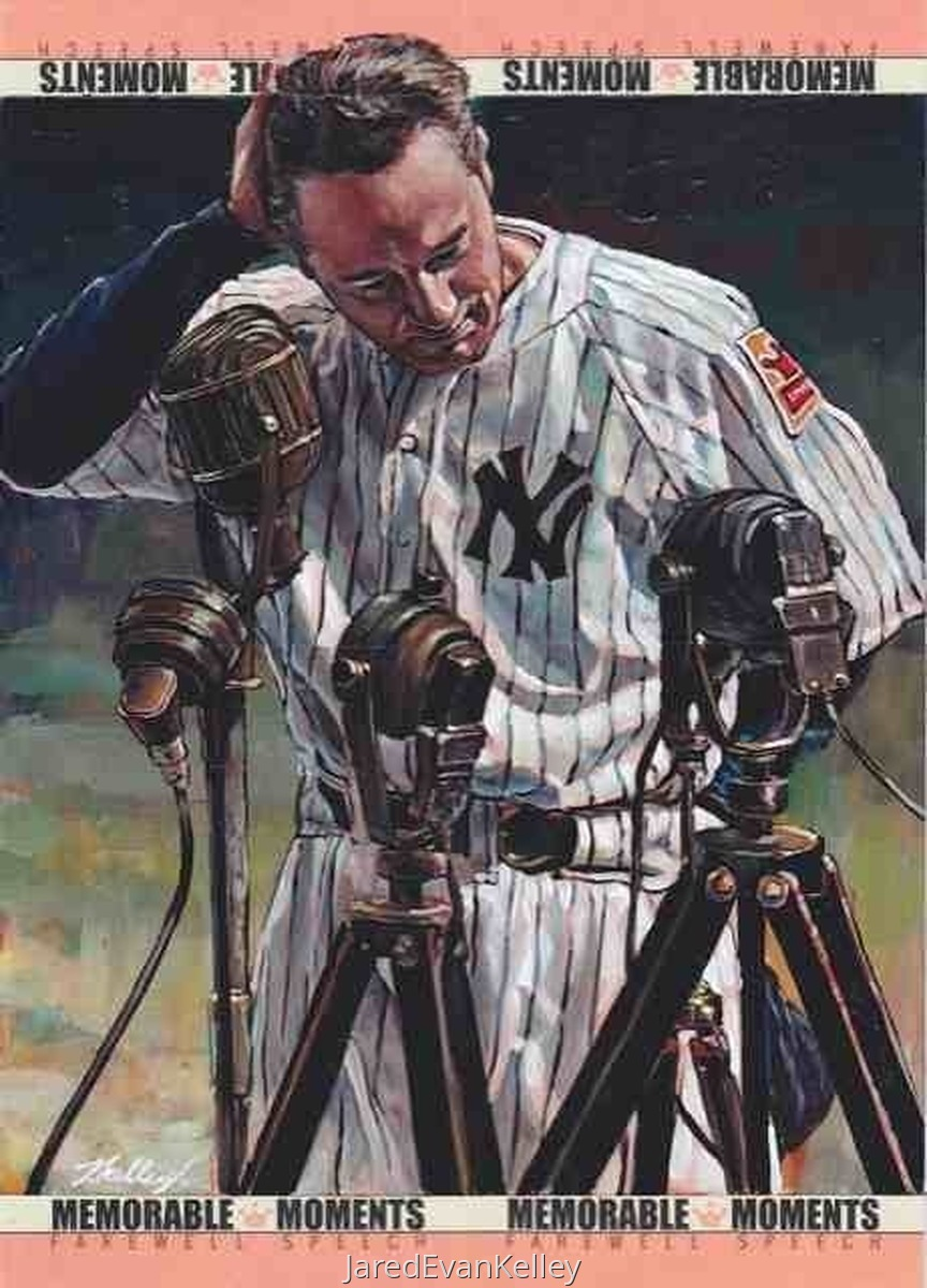 Lou Gehrig Farewell (large view)