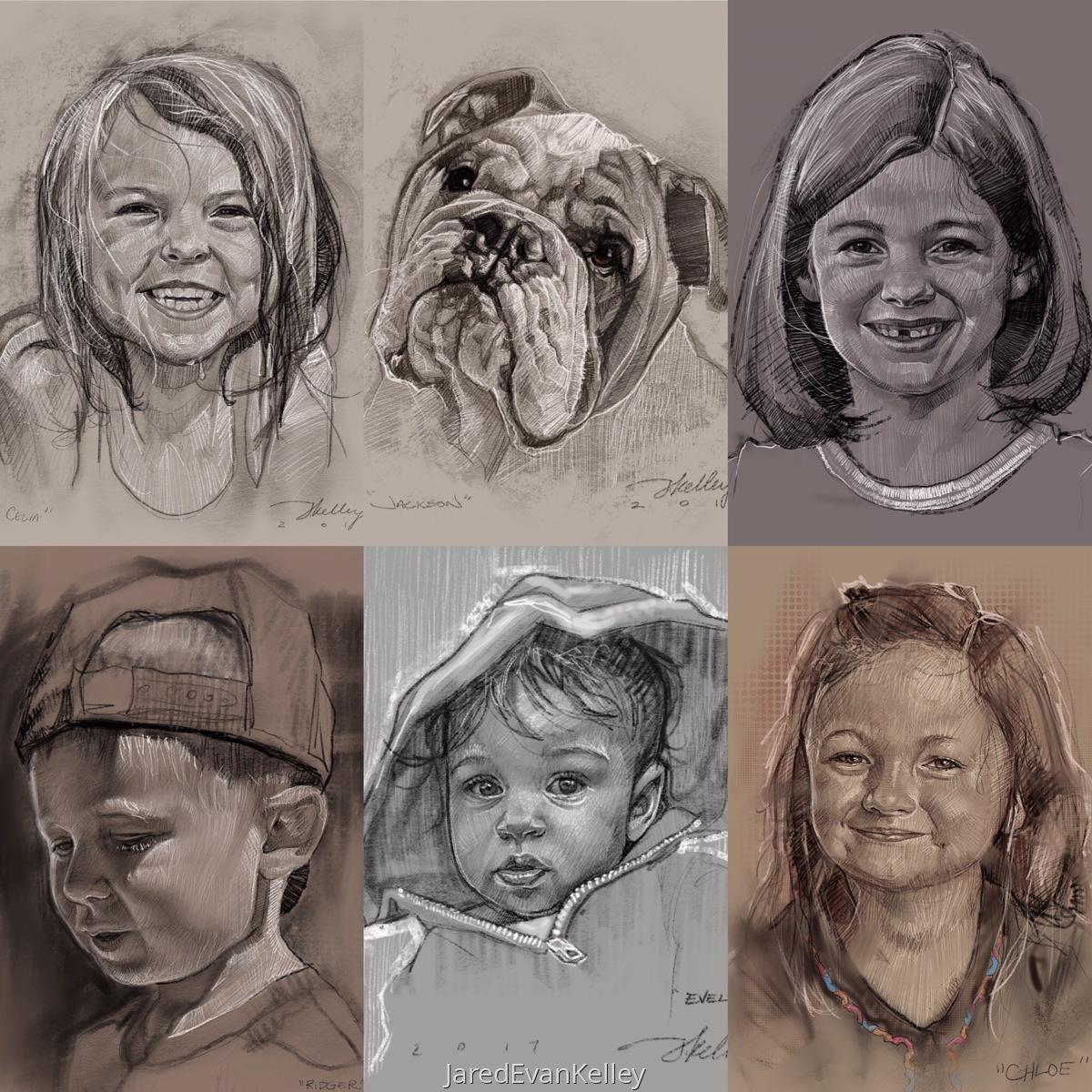 Digital Portrait Commissions (large view)