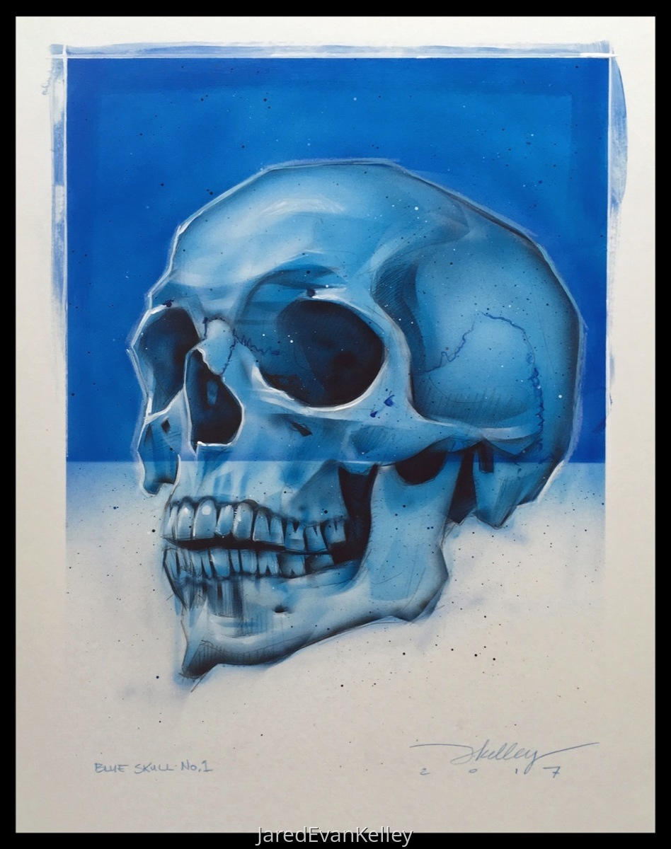 Skull (Blue) (large view)