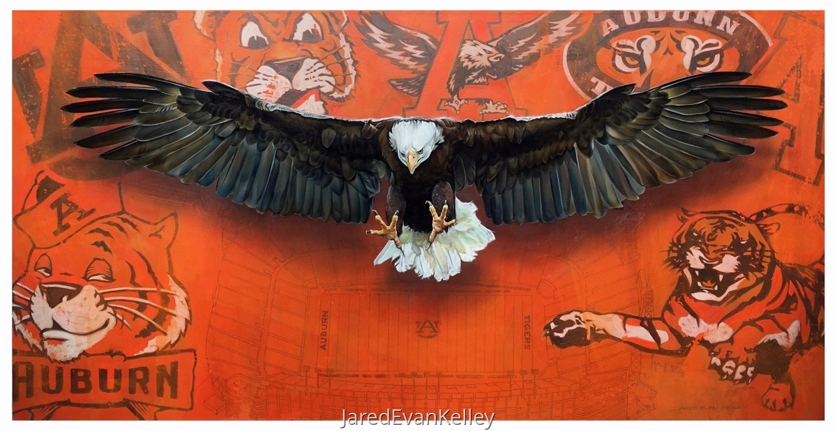 War Eagle Over Stadium  (large view)