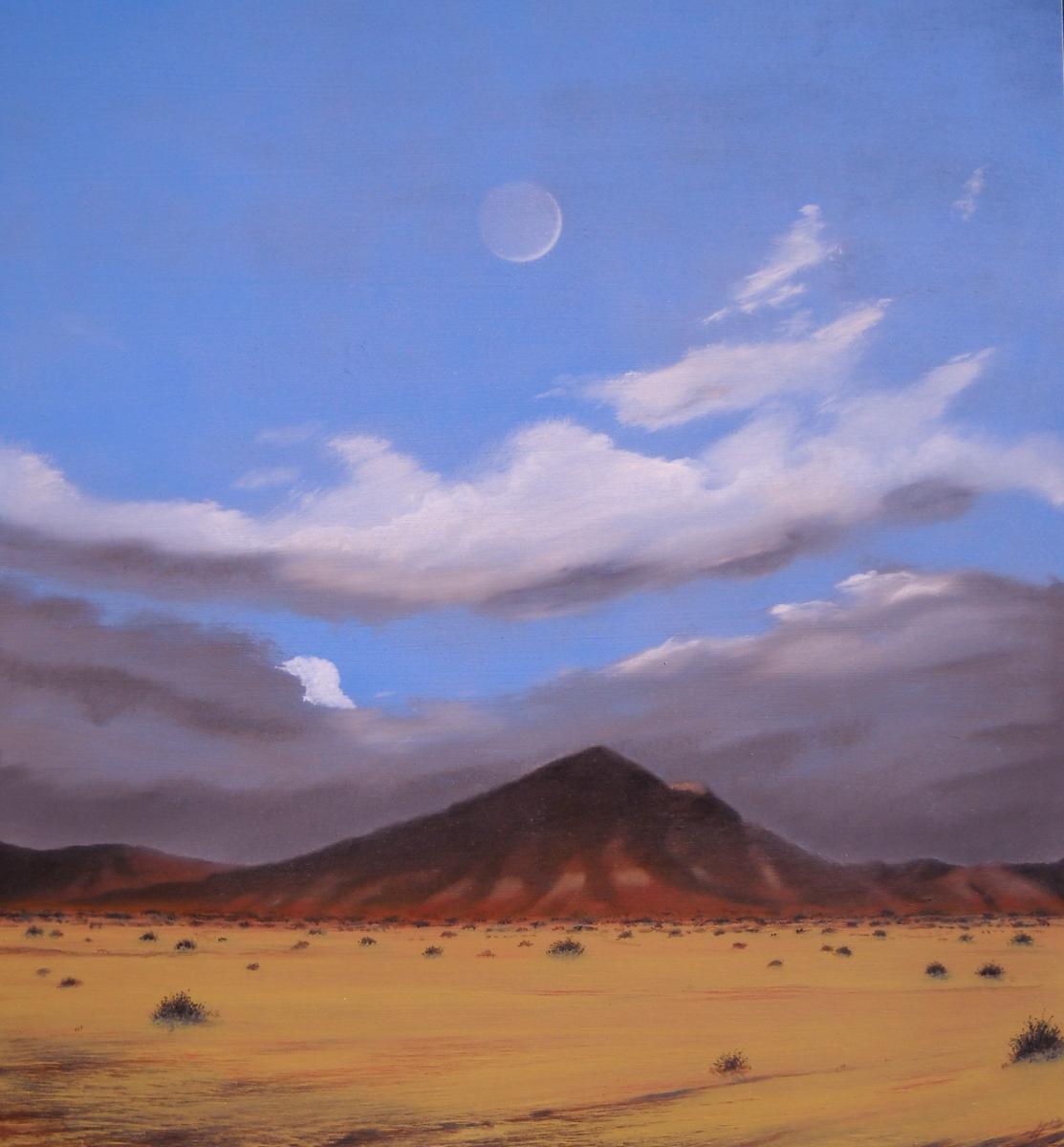 Rainbow Basin, Northern Mojave Desert (large view)
