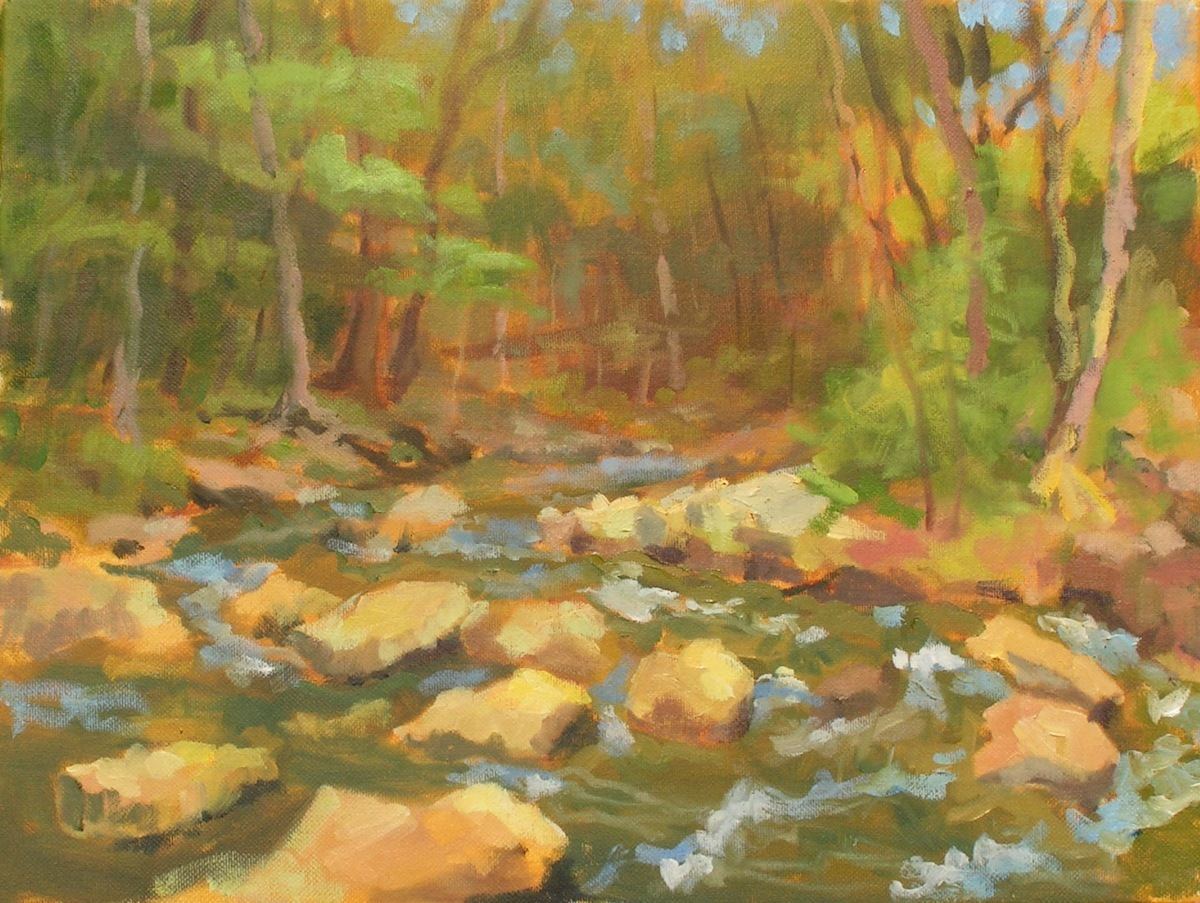 Cold Creek, Sergeantsville, Early Spring (large view)