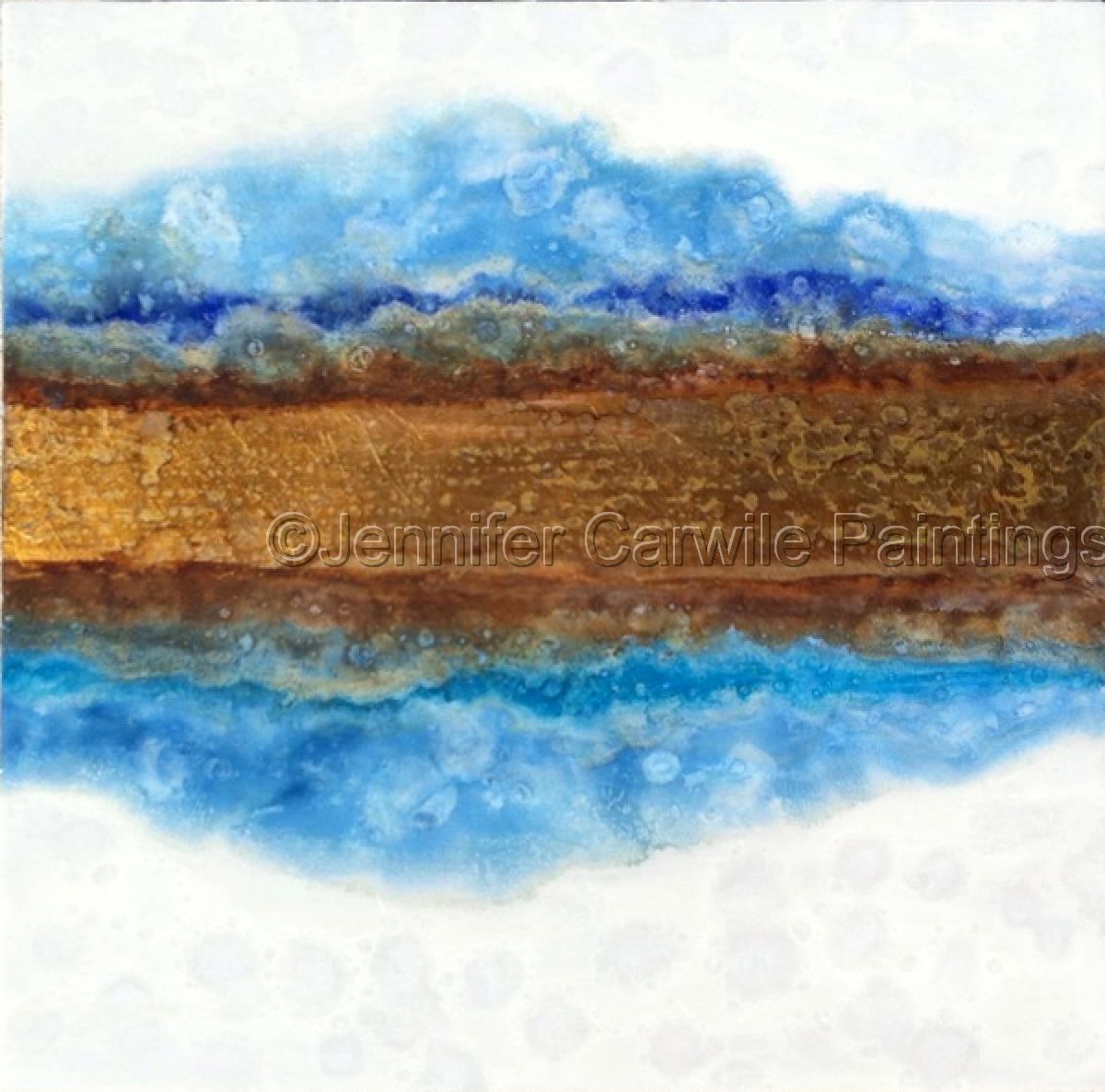 Blue Mist- Reflection (large view)