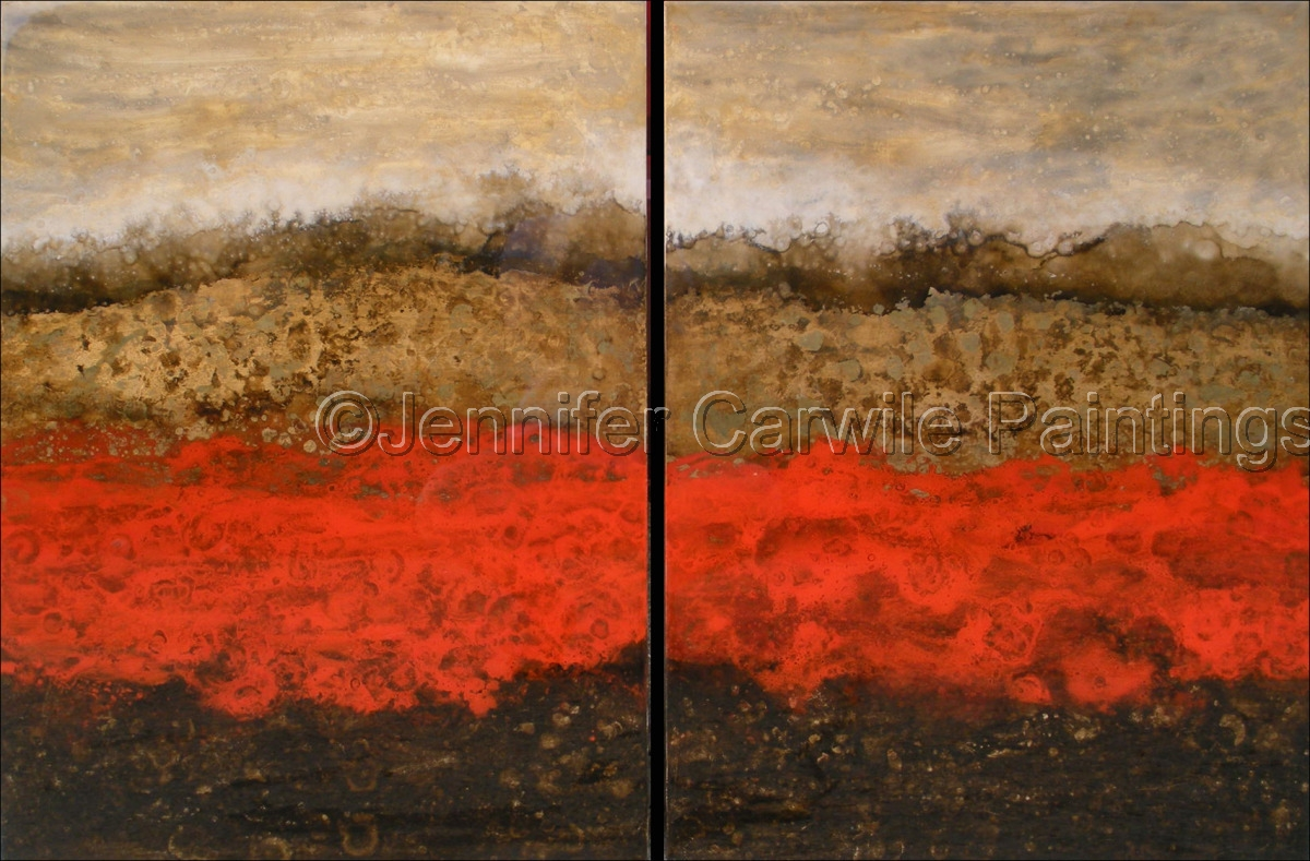 Alchemy V, Diptych (large view)