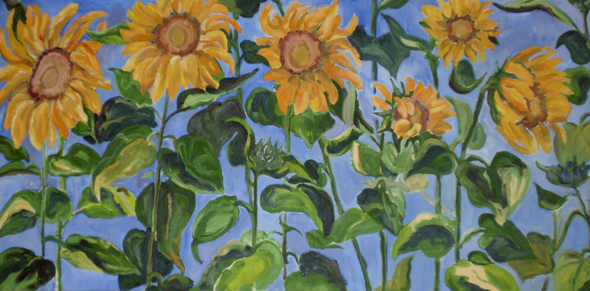Sunflowers (large view)