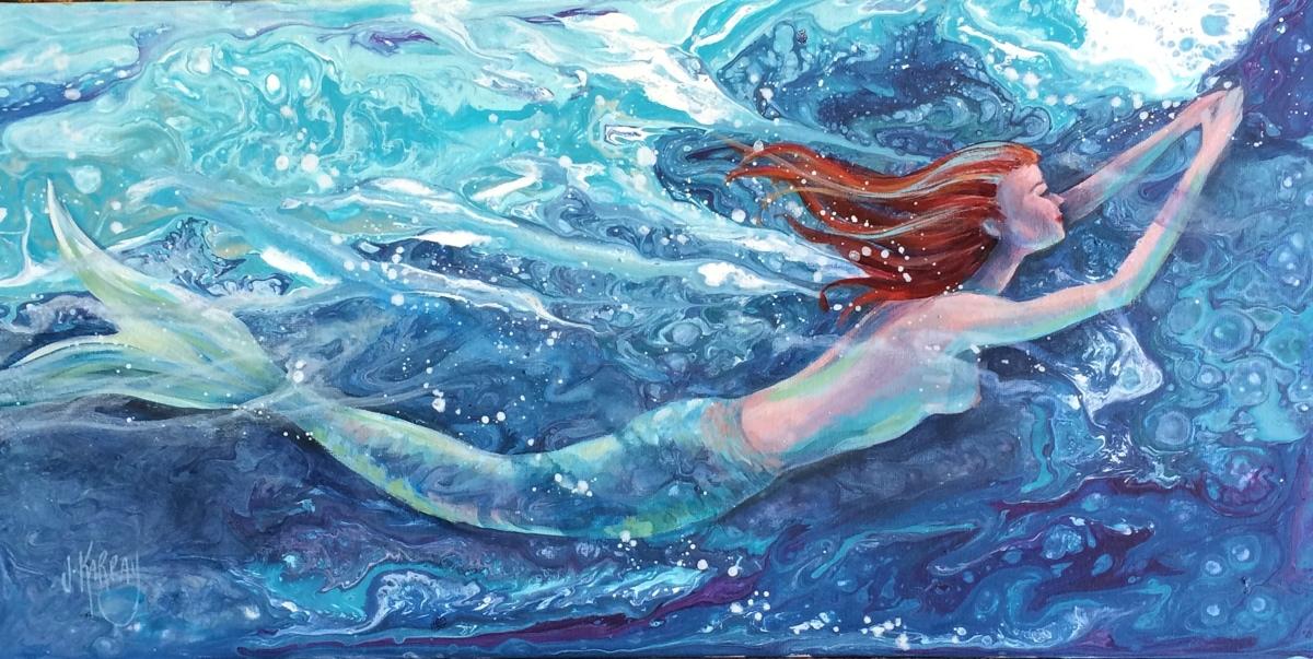 Redhead Mermaid (large view)