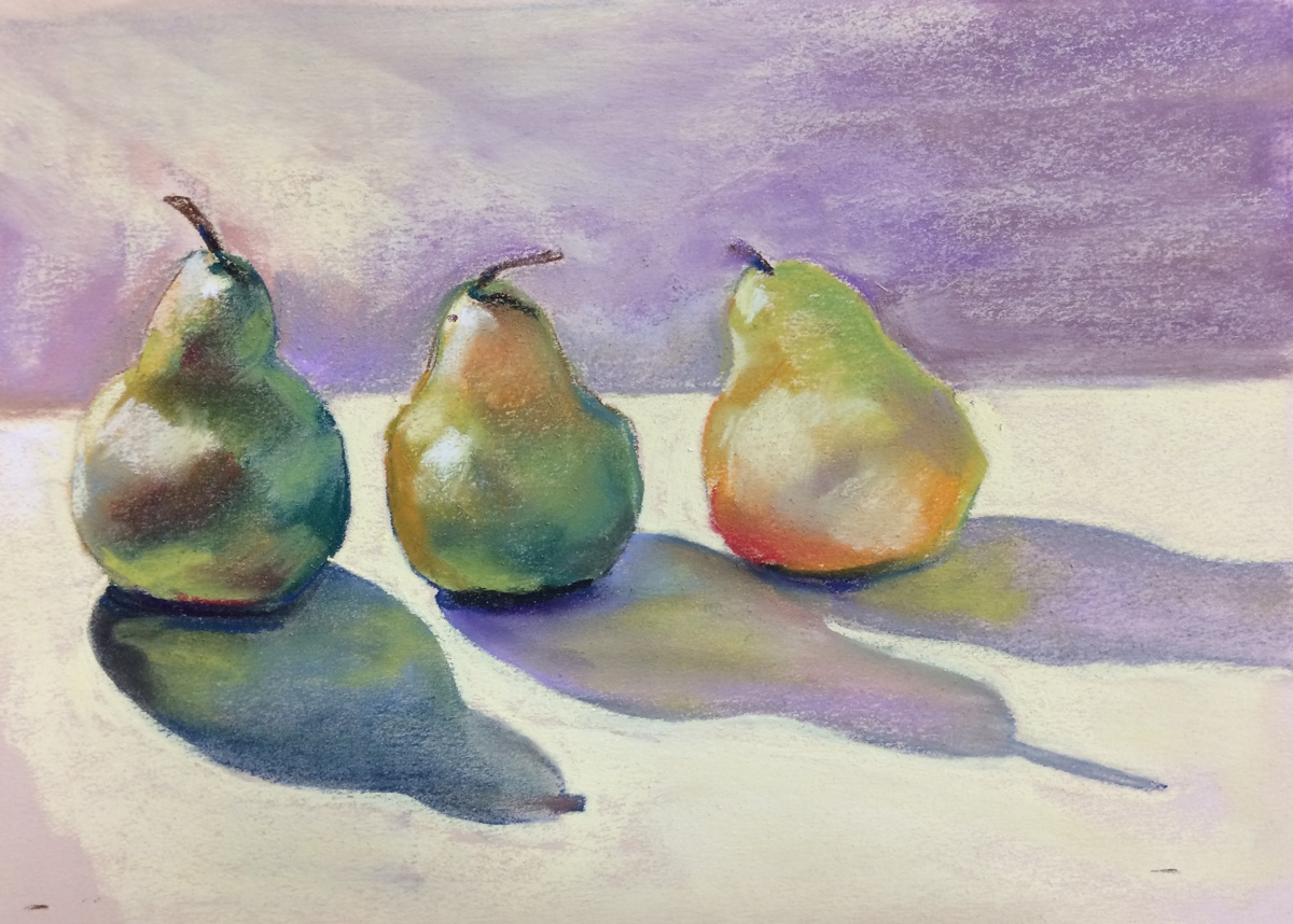 Pear shadows (large view)