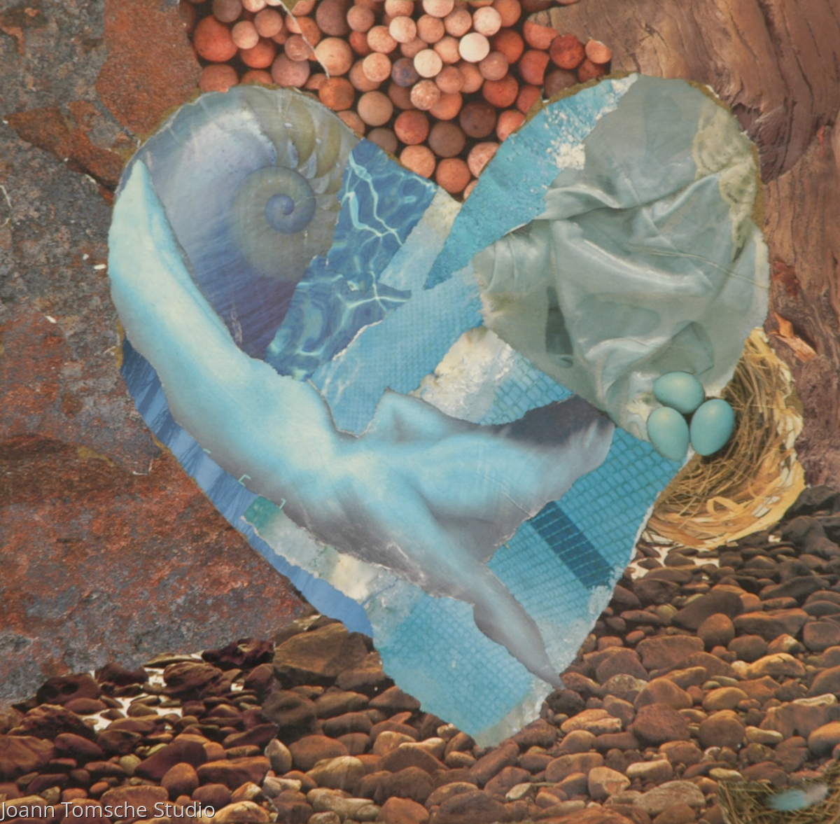 Deep End of Love art tile (large view)