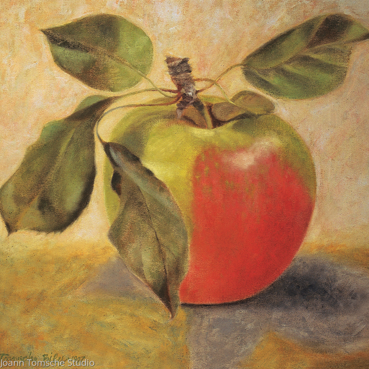 Simply Apple art tile (large view)