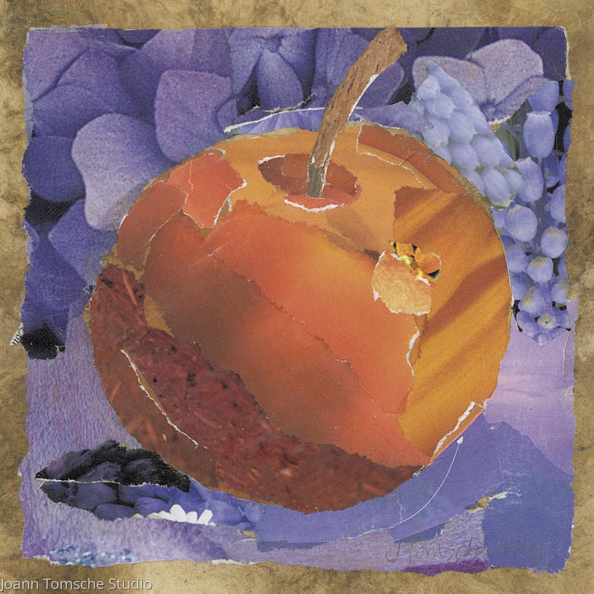 Golden Apple art tile (large view)