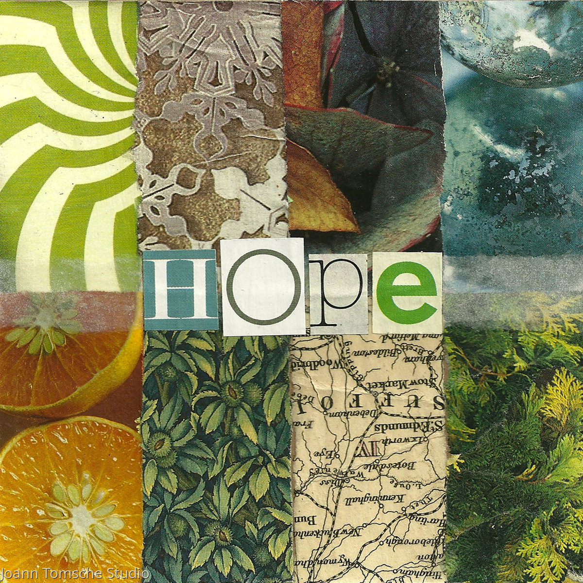 Hope art tile (large view)