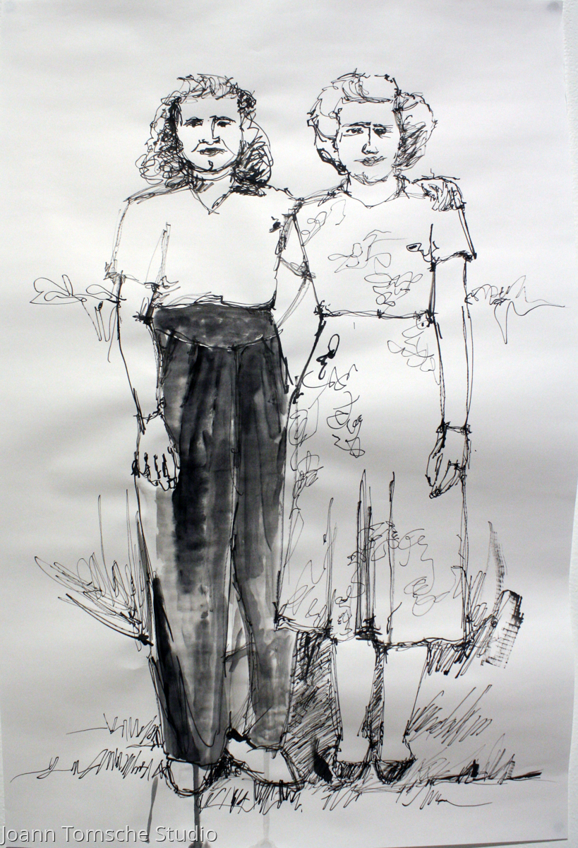 Estelle and Marion (large view)