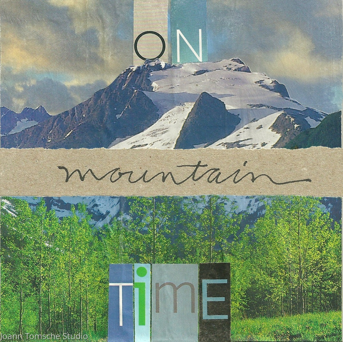 On Mountain Time Art Tile (large view)
