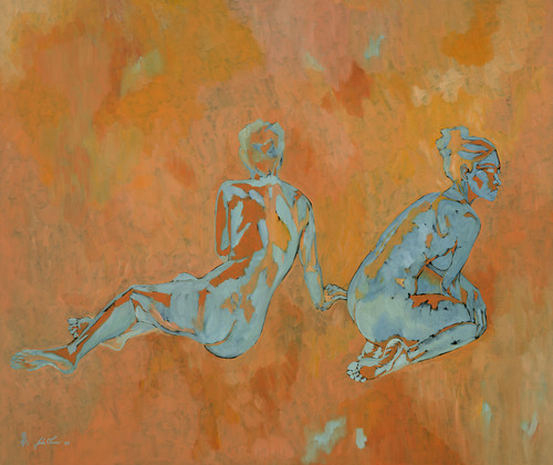 Two Sitting Women, 2006 (large view)