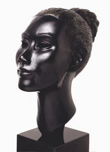 Untitled Female Head, 2003