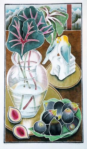 Figs and Caladium