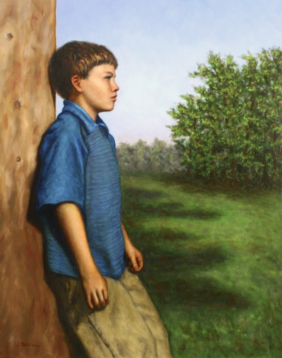 Boy in Blue (large view)