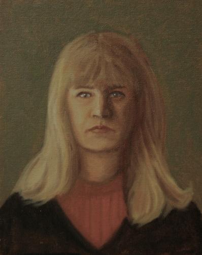 Alla Prima Self Portrait (large view)