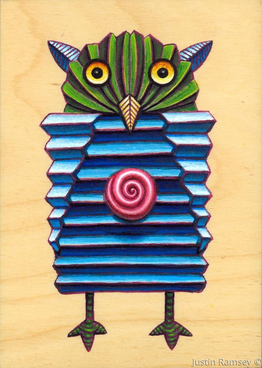 Rosebud Origami Owl (large view)