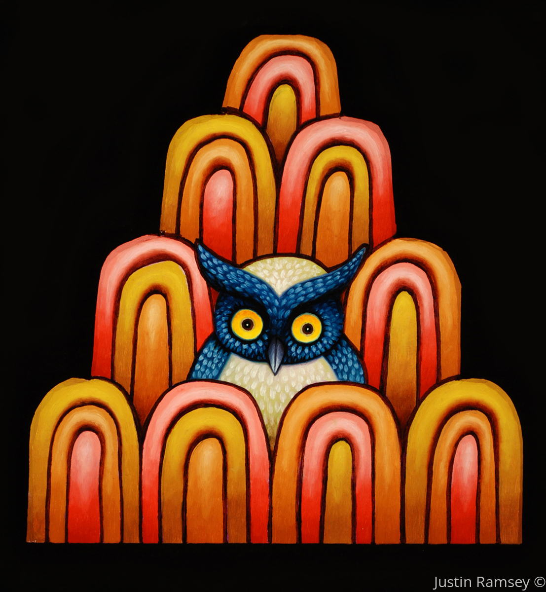 Mystic Mountain Visionary Owl (large view)