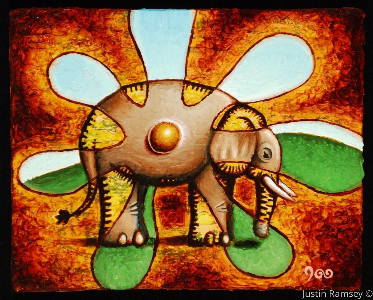 Amoebic-Elephantine Blossom (large view)