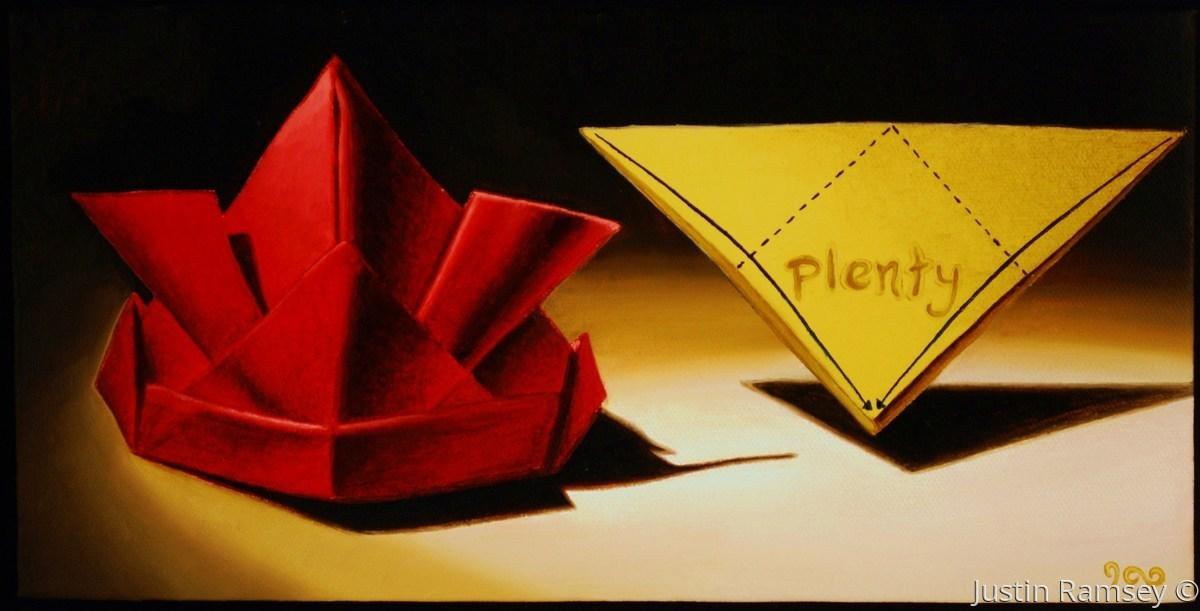 Plenty Series: Origami (large view)