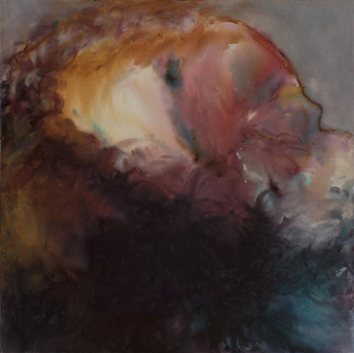 Dream image of head (large view)