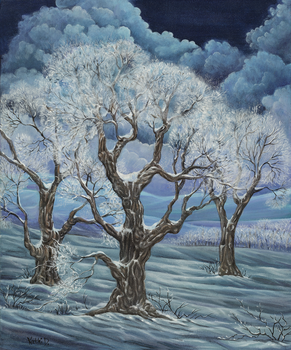 """Winter Glory 2"" by Kathi Dugan (large view)"