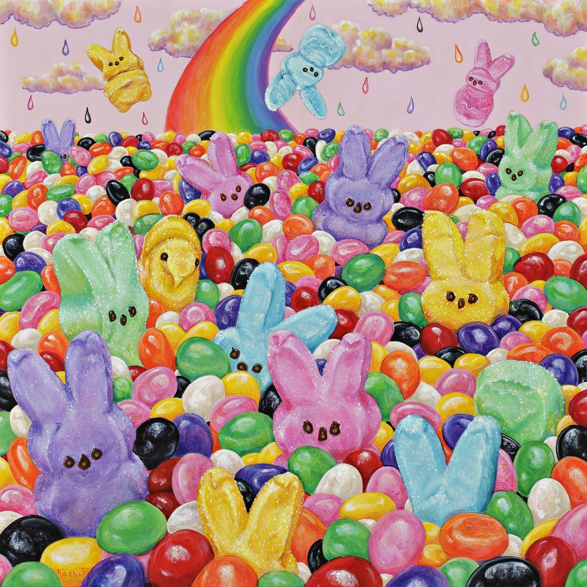 BUNNY BALL PIT by Kathi Dugan (large view)