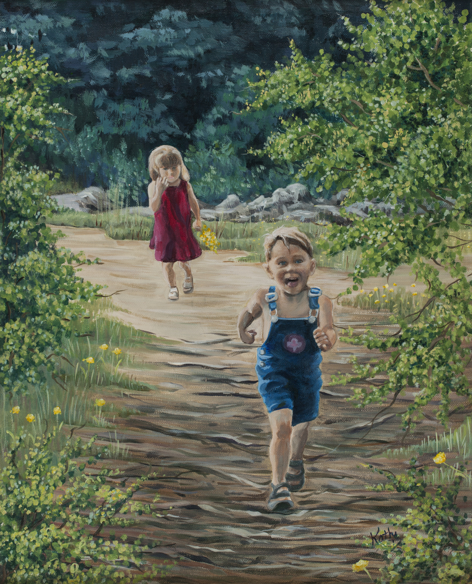 The Wooded Stroll by Kathi Dugan (large view)