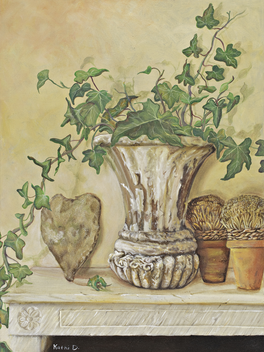 ON THE MANTLE by Kathi Dugan (large view)