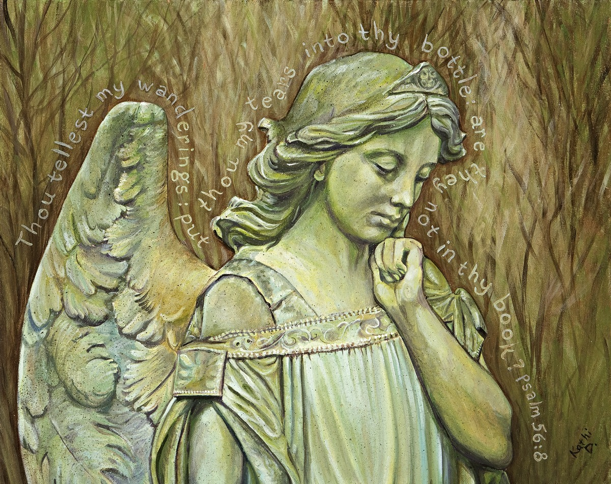 Messenger Of Mercy by Kathi Dugan (large view)