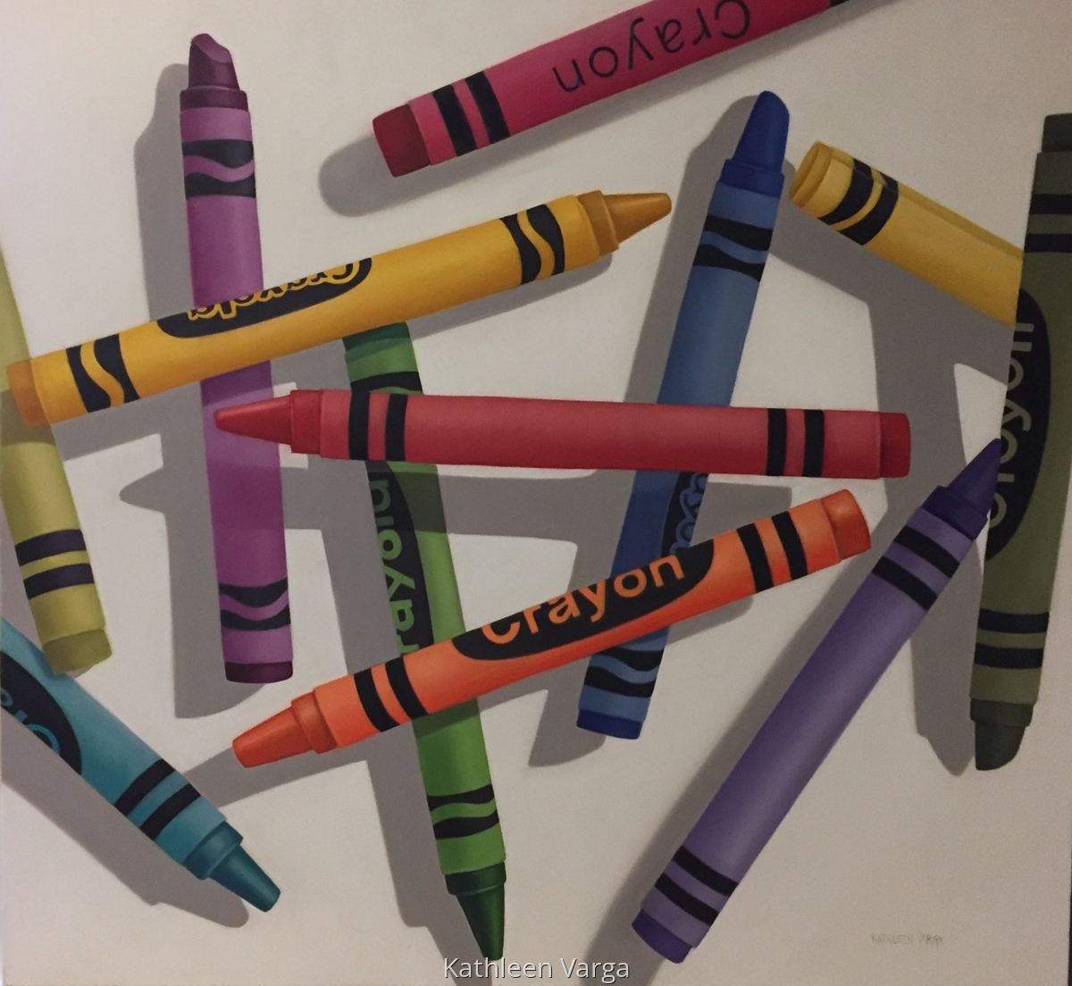 """CRAYONS"" (large view)"