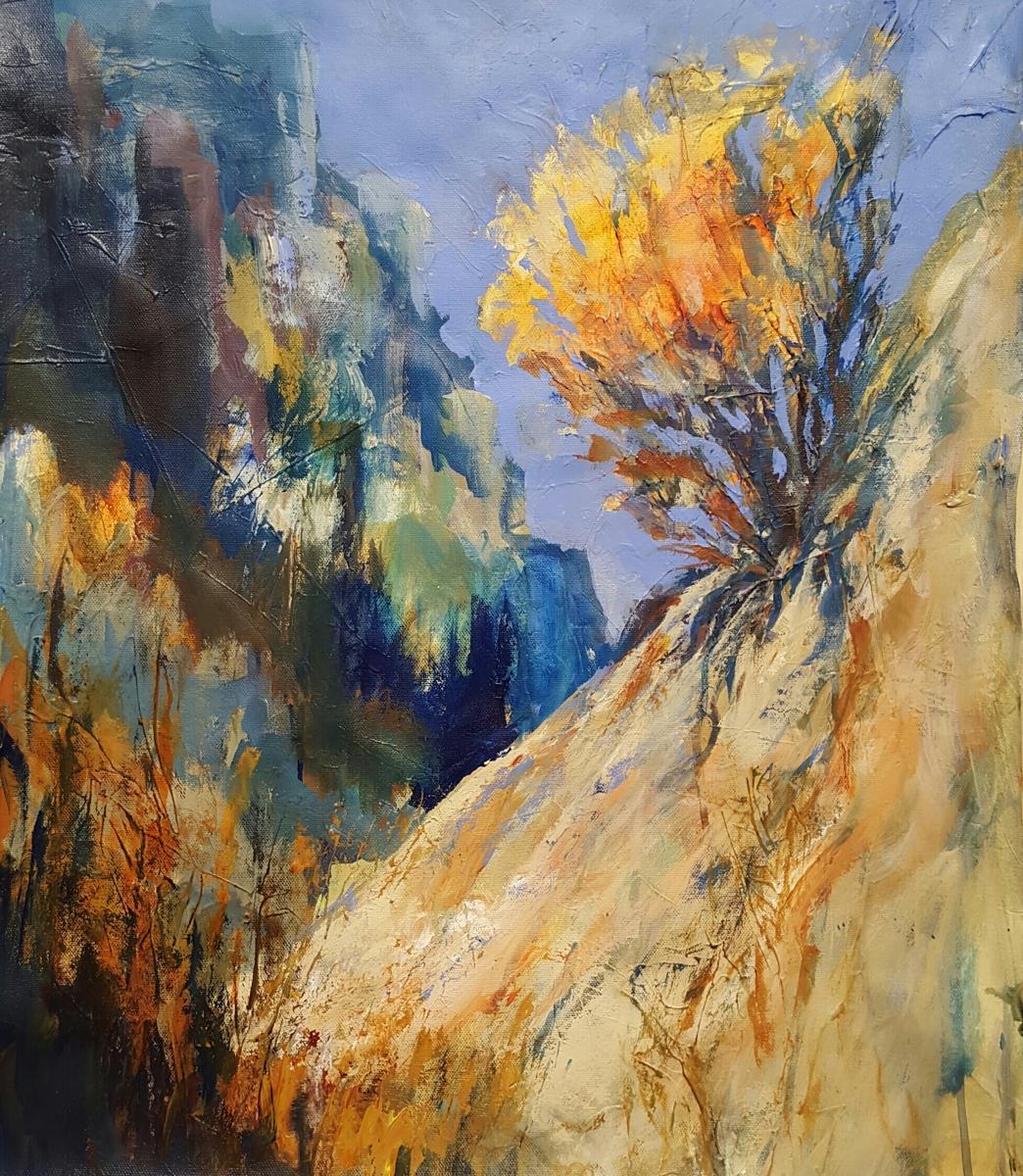Steep,  Sandia Mtns (large view)