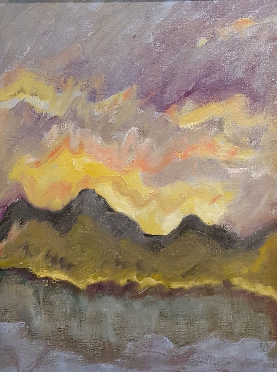 Cherokee Sunset (large view)