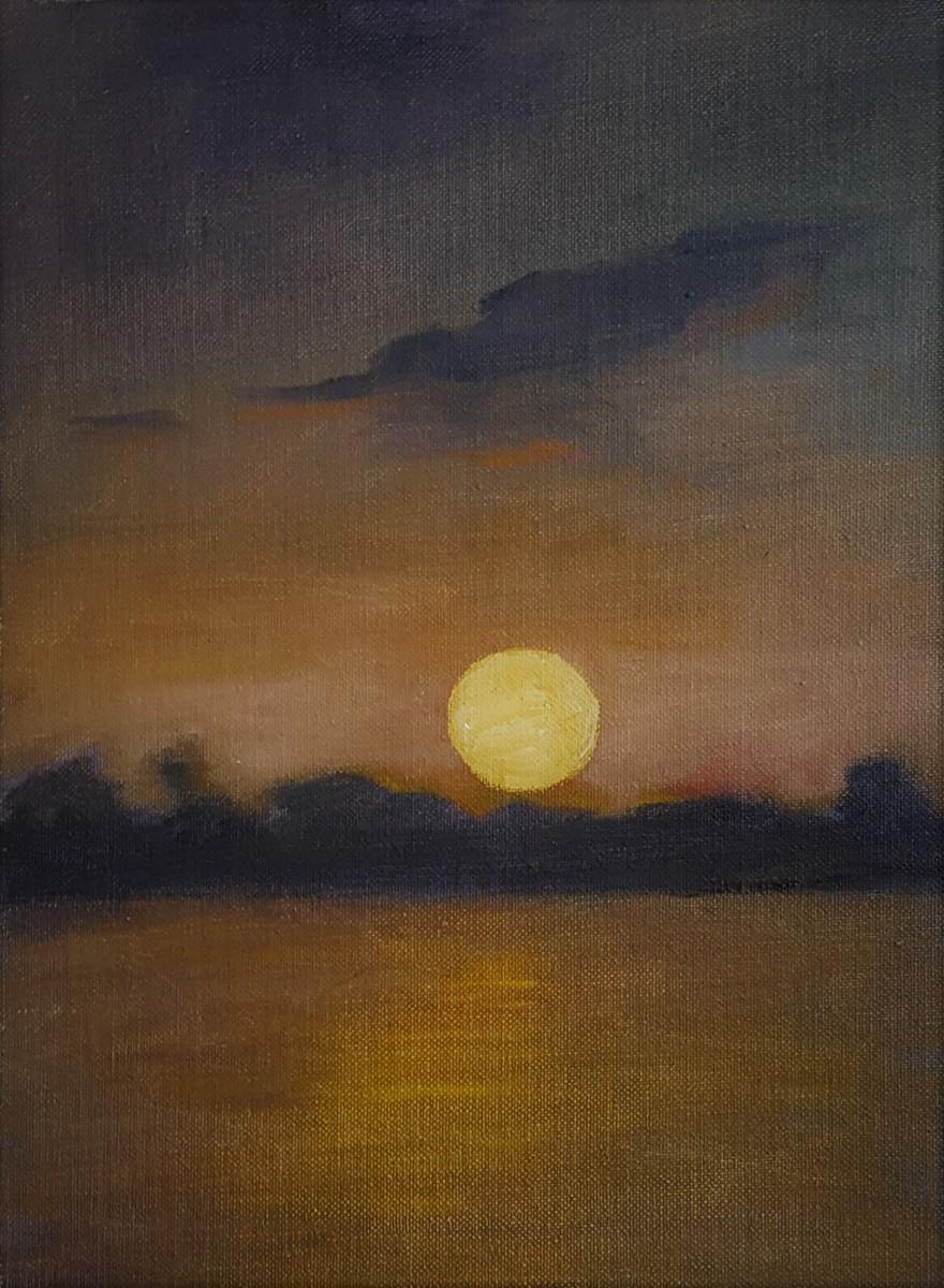 Ohio River Moonrise (large view)