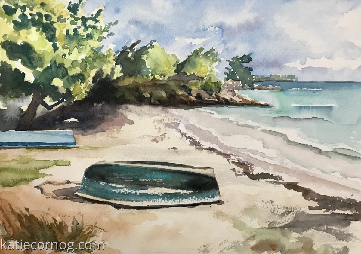 Oistin's Beach, Barbados (large view)