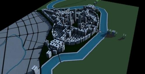 DRAGON CITY by KEVIN DWORAK