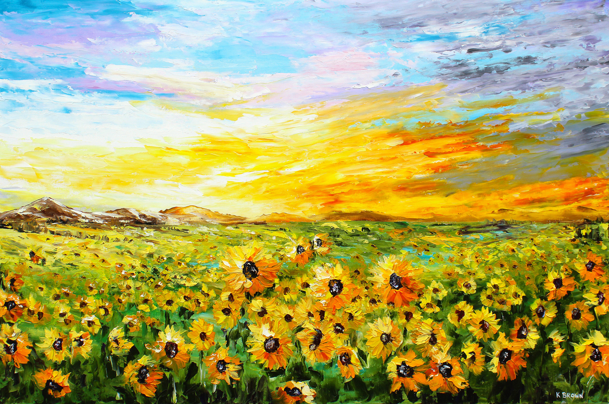 Fields of Gold - SOLD (Prints Available) (large view)