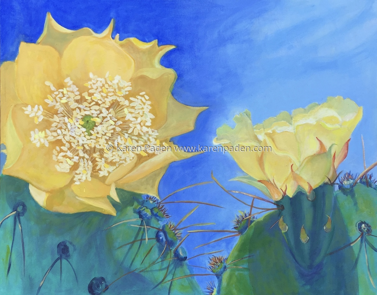"""""""Cactus Flowers"""" (large view)"""