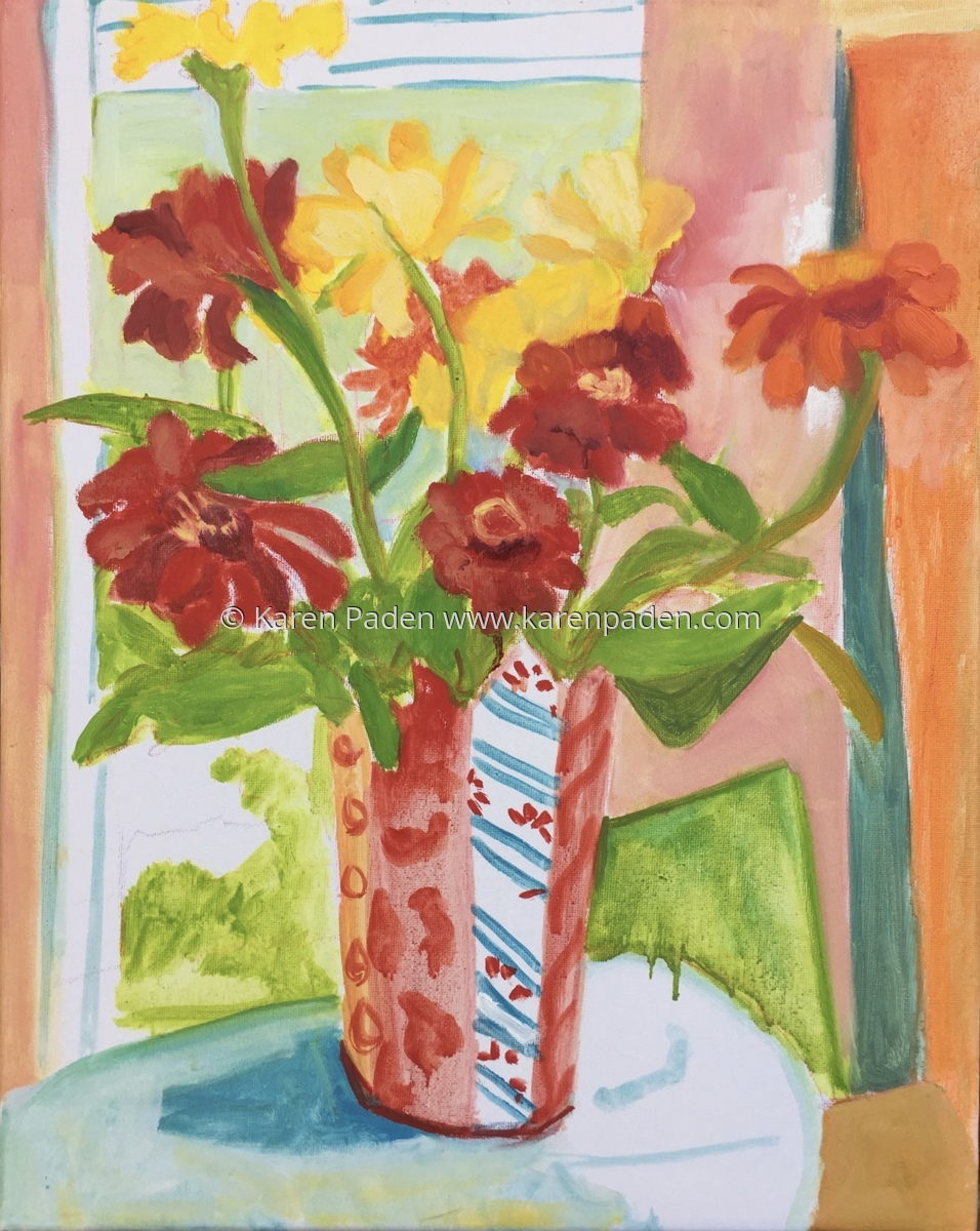 """""""Flowers in the window"""" (large view)"""